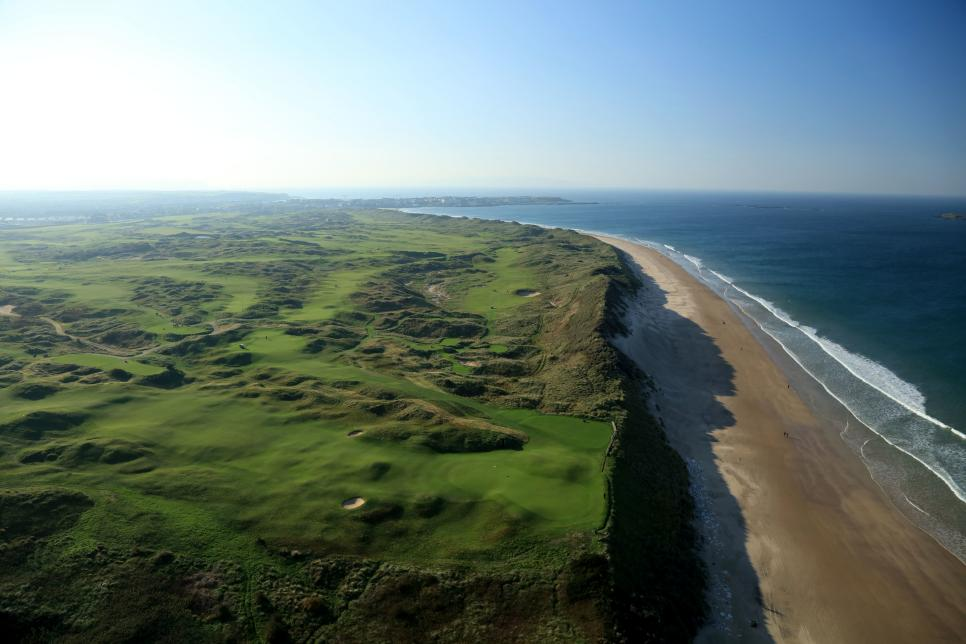 Aerial Views of Royal Portrush Golf Club