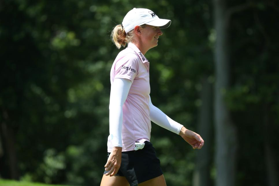 stacy lewis Marathon Classic Presented By Dana - Round One