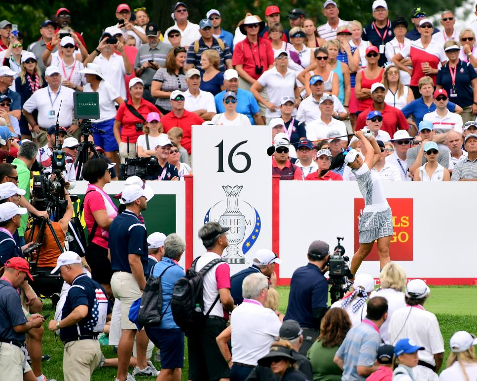 danielle kang The Solheim Cup - Day Two