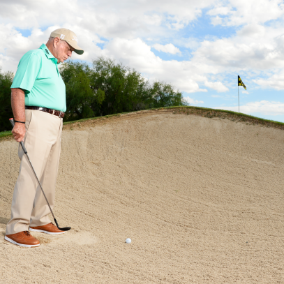 Use Butch Harmon's keys to simplify bunker shots