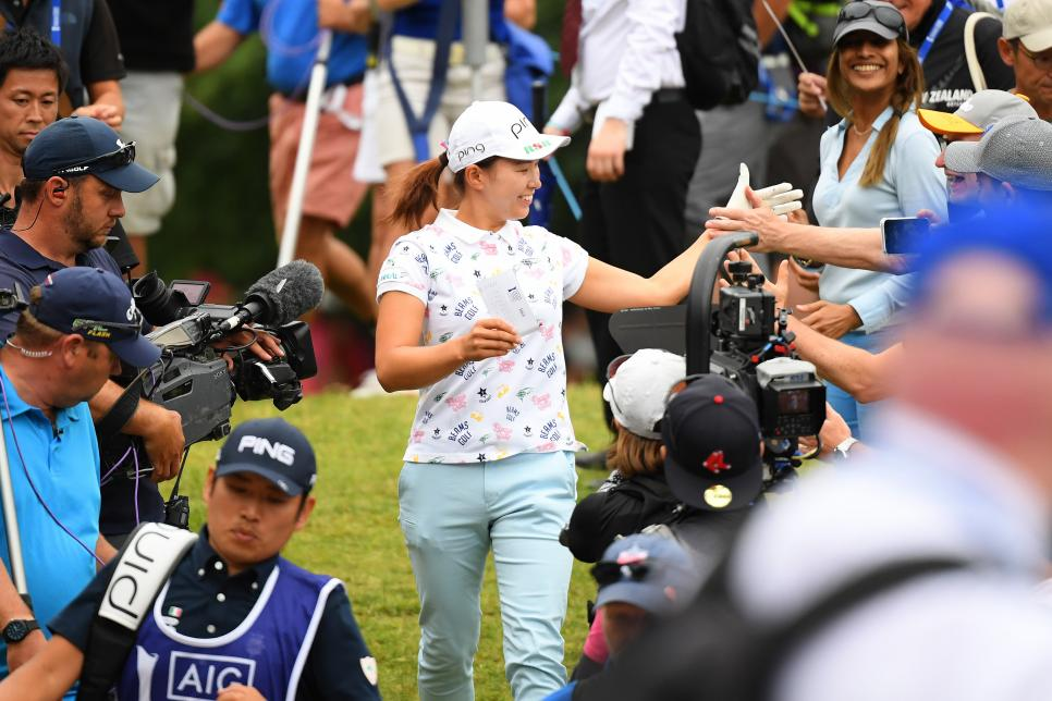 hinako shibuno AIG Women's British Open - Day Four