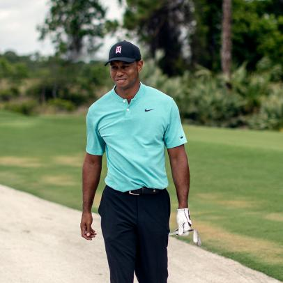 Why Tiger Woods doesn't beat balls at tour events
