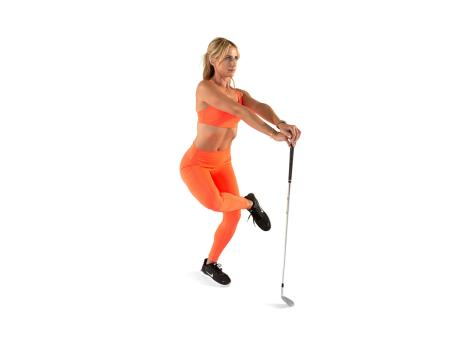 Two exercises for golfers who sit too much