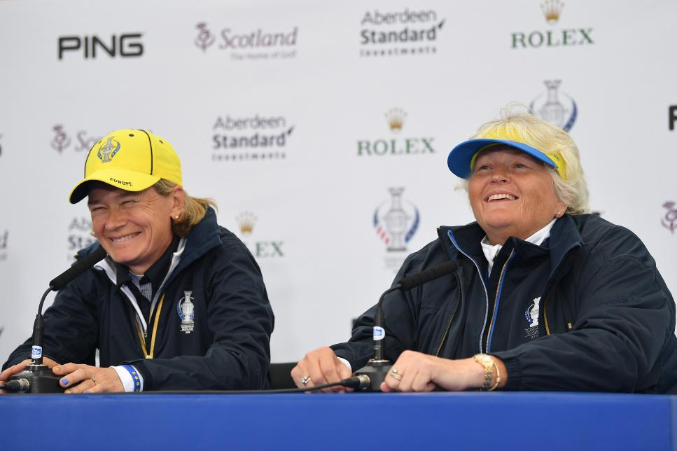 laura davies The Solheim Cup - Preview Day 2