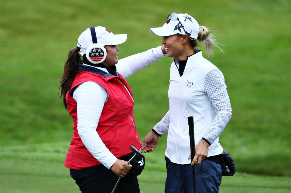 The Solheim Cup - Day 2