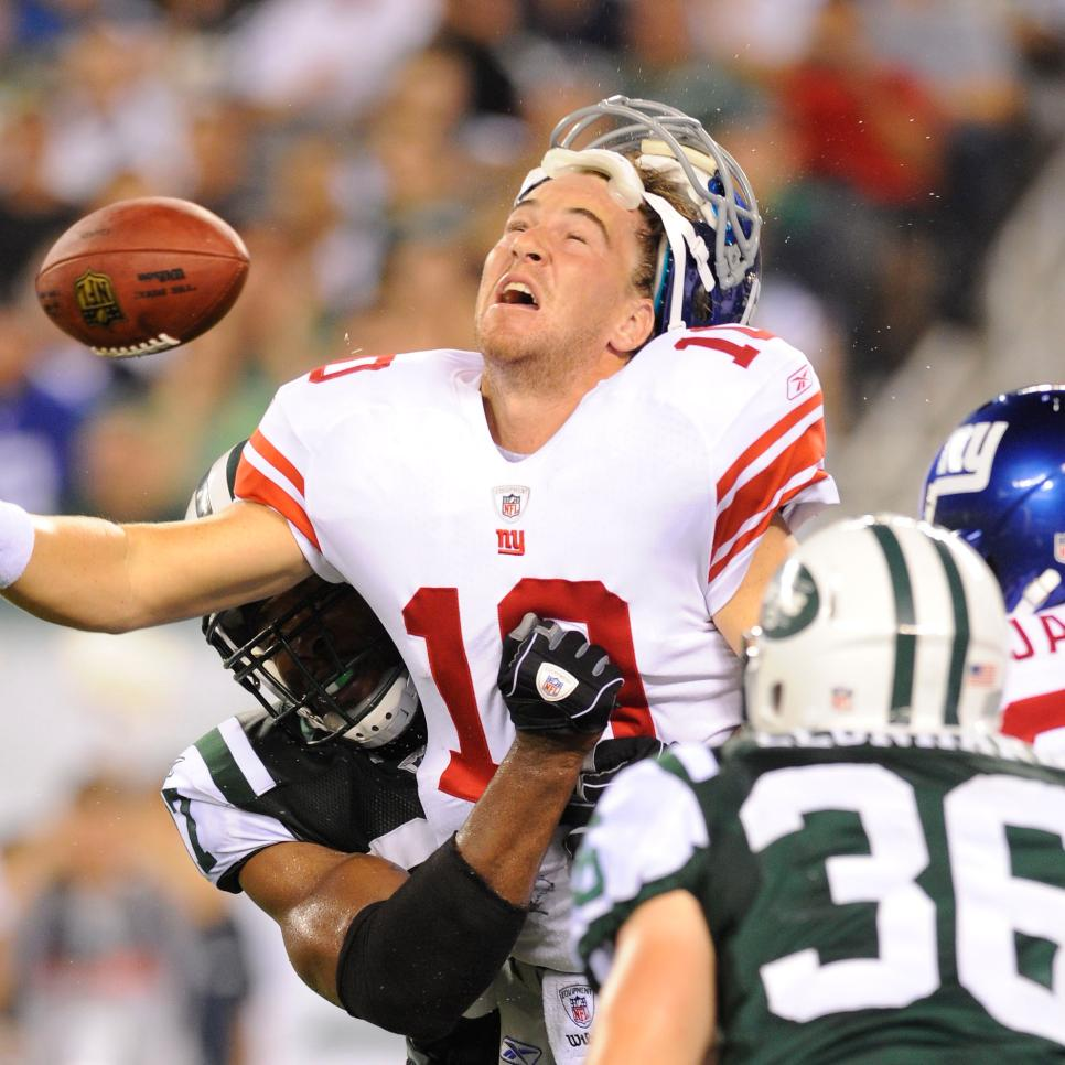NFL: AUG 16 Preseason - Giants at Jets