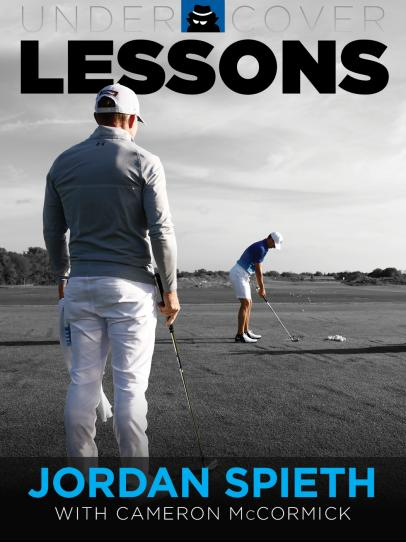 Undercover Lessons: Jordan Spieth and Cameron McCormick