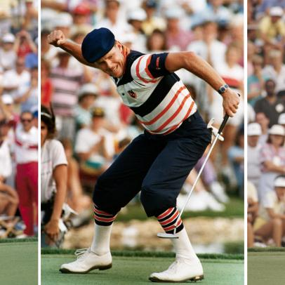 A young Payne Stewart rarely made it easy, even in victory