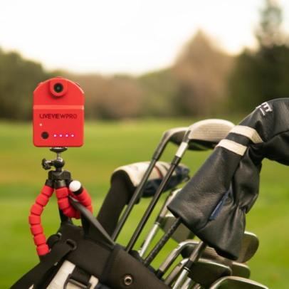 Analyze every swing like the pros with the LiveView Pro hands-free camera