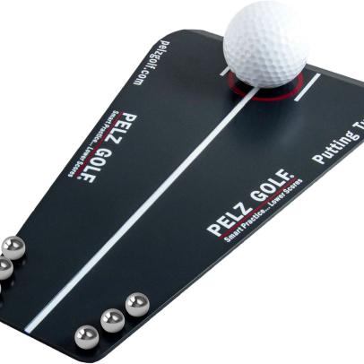 How the Dave Pelz Putting Tutor training aid will help anyone make more putts