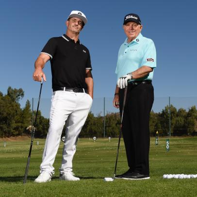 What happened when Butch Harmon took a lesson from George Gankas