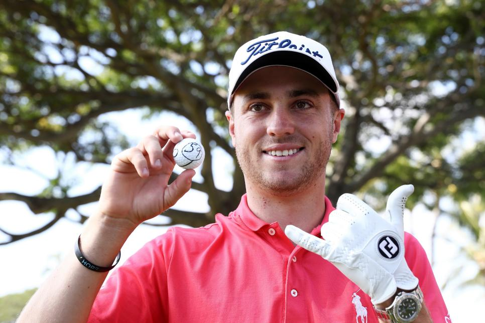 Justin Thomas 2017 Sony Open 59