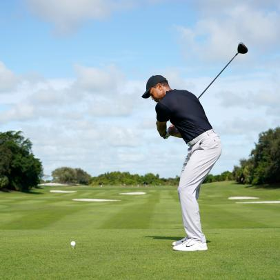 The new tee shot Tiger Woods relies on under pressure, and how you can play it