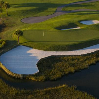 Can you read Harbour Town's greens?