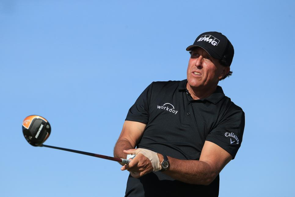Phil Mickelson 2020 Saudi International - Previews