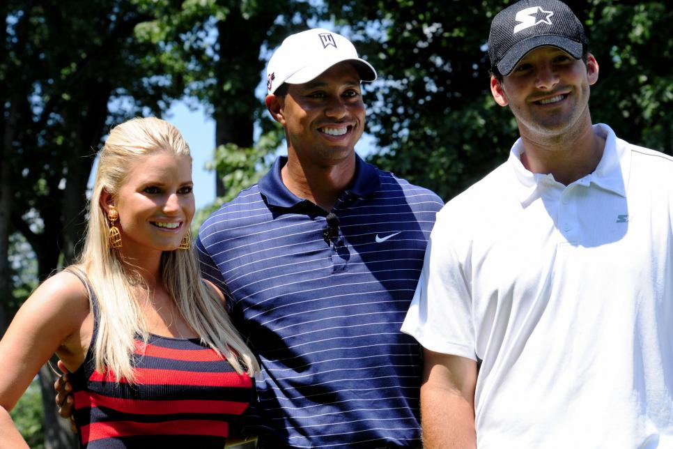 US golfer and tournament host Tiger Wood