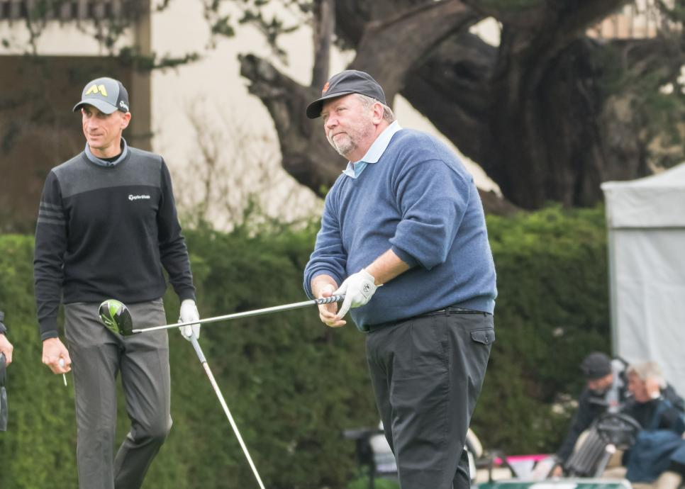 GOLF: FEB 10 PGA - AT&T Pebble Beach Pro-Am - Second Round