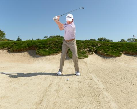 Michael Breed's quick tips to hitting it flush from fairway bunkers