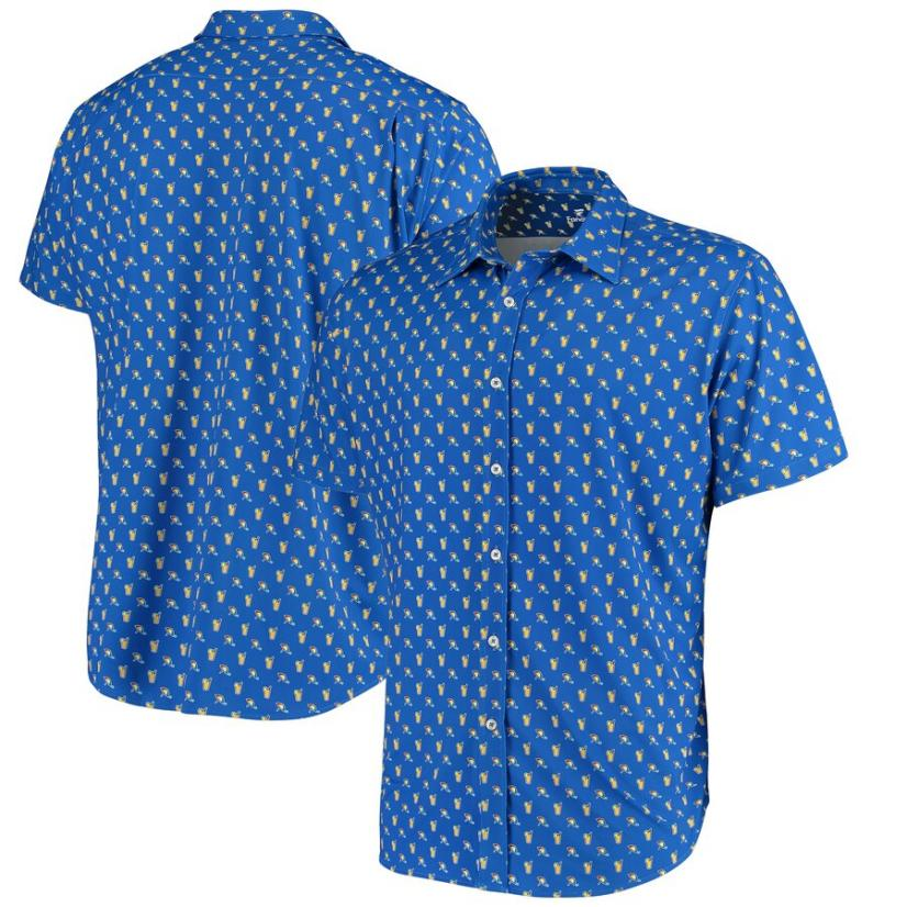 Arnold Palmer Button Up Blue shirt.jpeg
