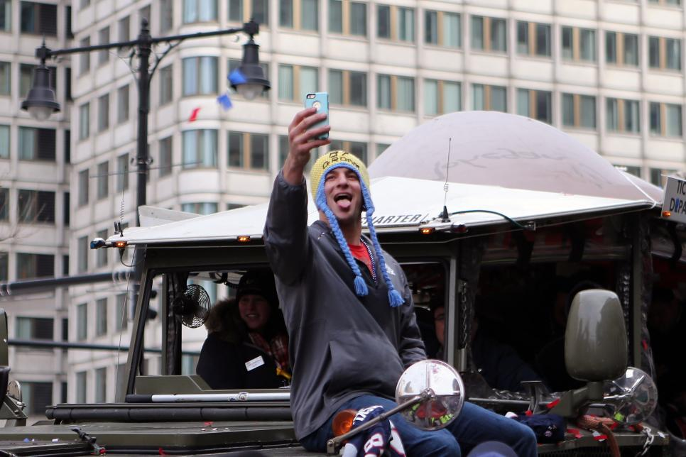 NFL: FEB 04 Patriots Super Bowl Victory Parade
