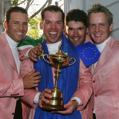 Paul Casey describes how a bit of Ryder Cup gamesmanship nearly backfired for Europe