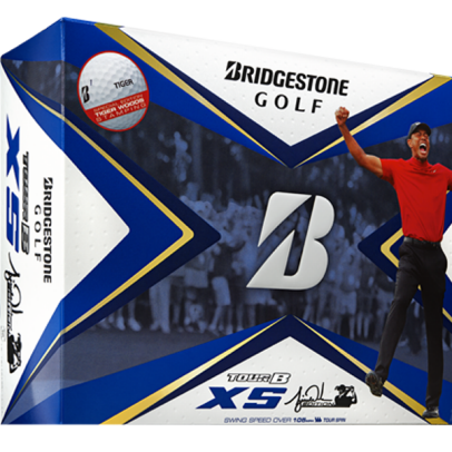 Tiger Woods started the year with a new Bridgestone golf ball. Now you can play it