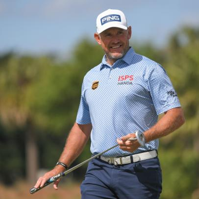 Lee Westwood's joyful career renaissance tempered by halt to competition