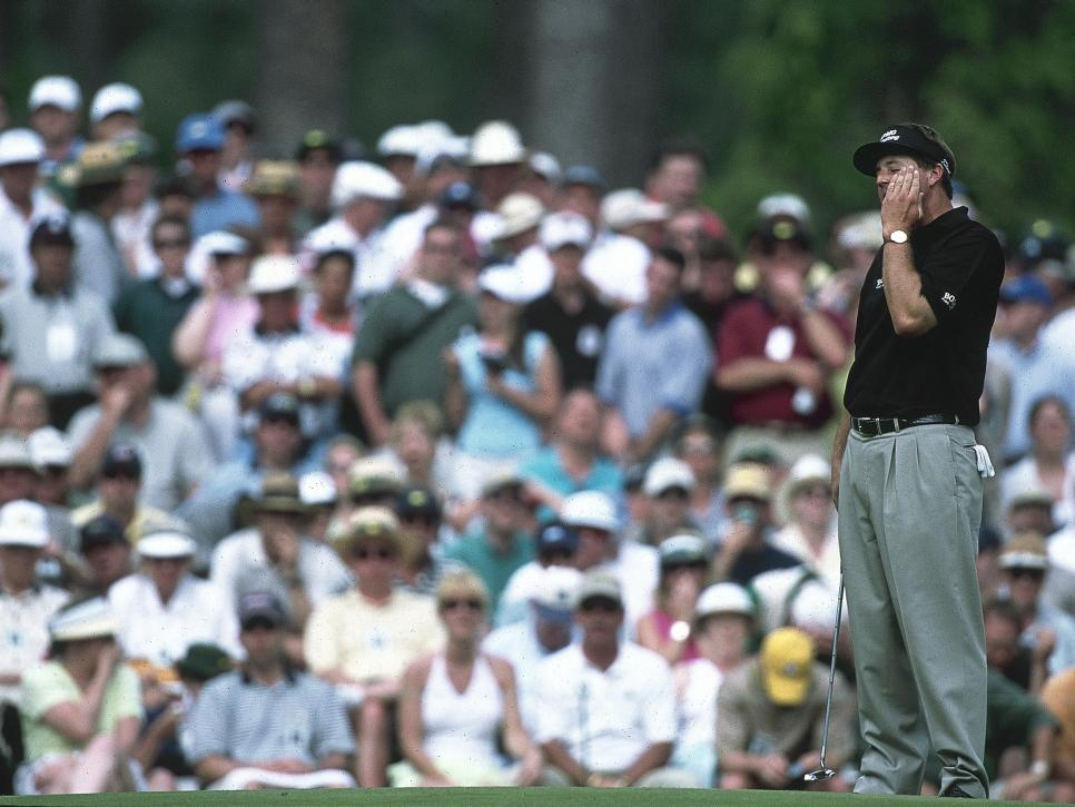 Phil Mickelson, 2001 Masters