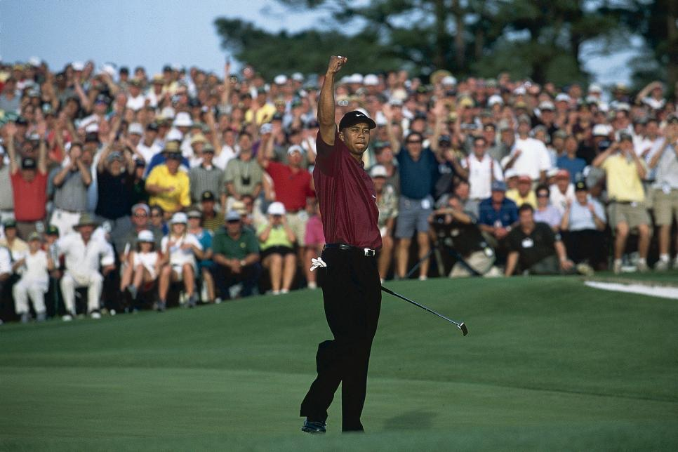 Tiger Woods, 2001 Masters