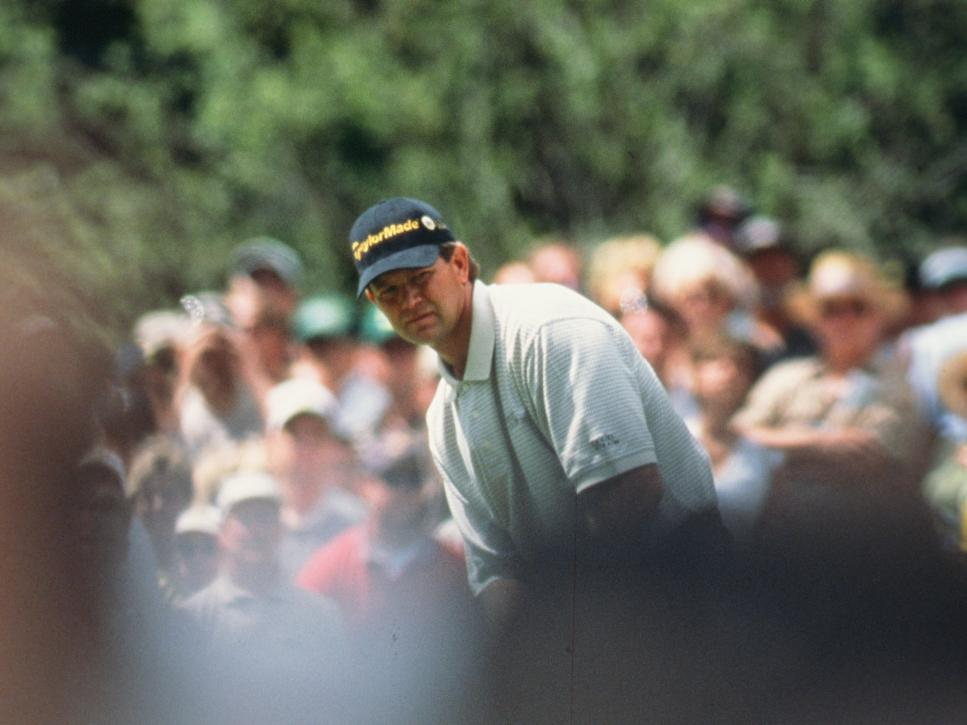 Retief Goosen During The 2002 Masters Tournament