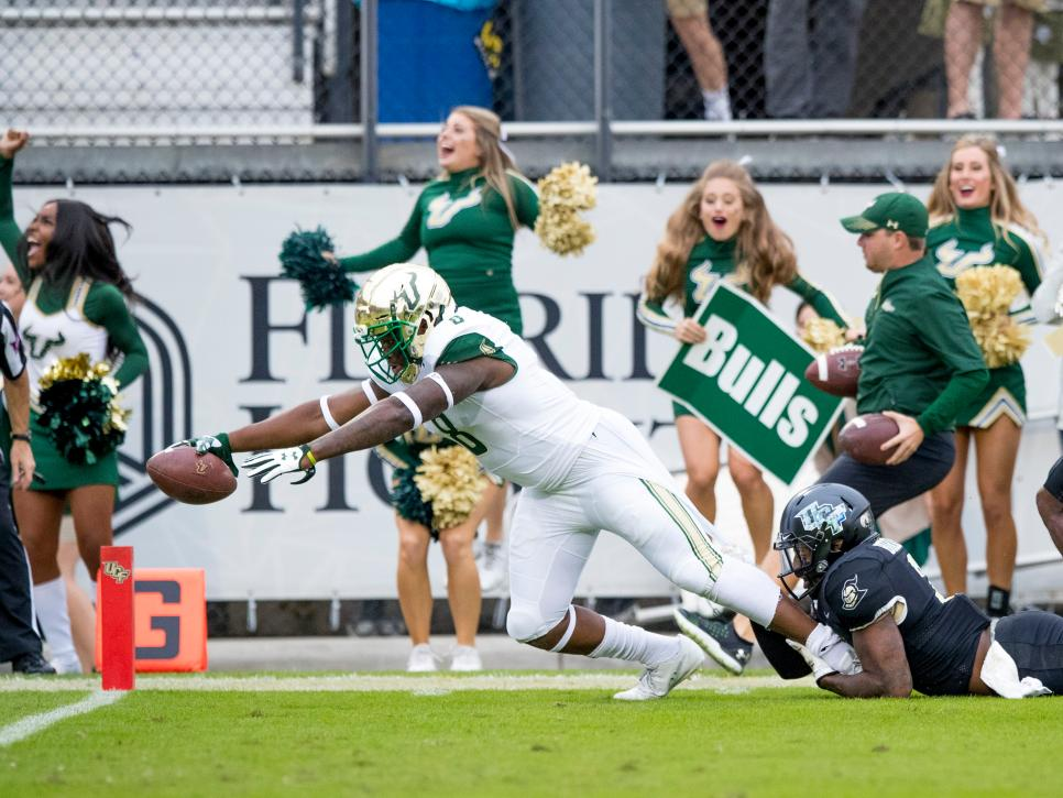 COLLEGE FOOTBALL: NOV 24 USF at UCF