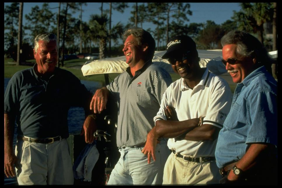 Golfing Partner's Of OJ Simpson