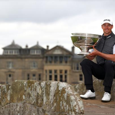 France's Victor Perez finds a home in Scotland and a coveted spot in the golf world