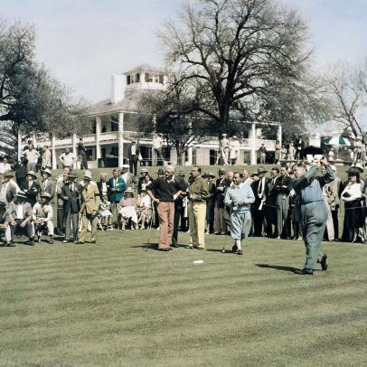 Did you know: Bob Jones played in the Masters after his retirement (12 times, in fact)
