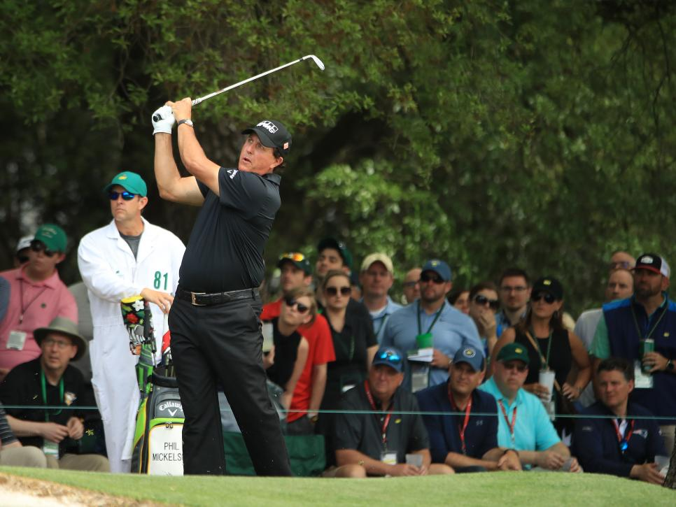 Phil Mickelson 2019 Masters - Round Three