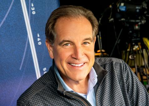 Jim Nantz tells a great story about the day he first uttered this famous Masters catchphrase