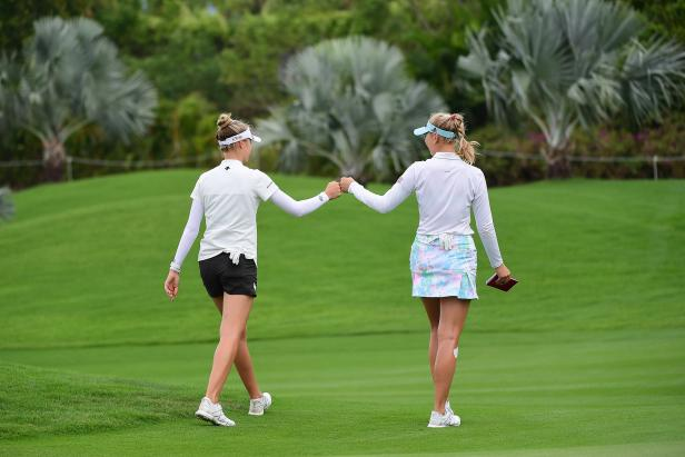 Jessica and Nelly, the Korda sisters, talk quarantine habits and how they have fun with sibling competition on the LPGA Tour