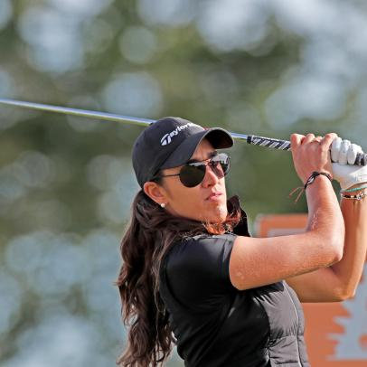 Maria Fassi celebrates first professional win while waiting for the LPGA season to resume