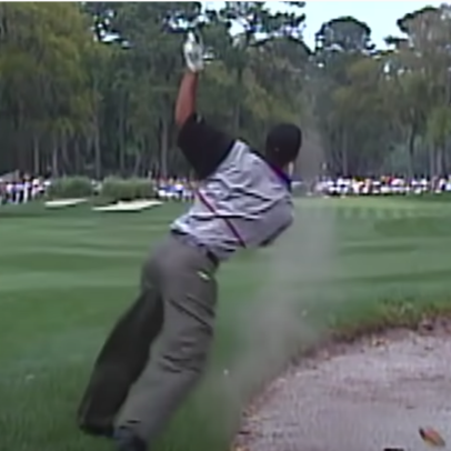 Tiger Woods' one trip to Hilton Head produced one of the most jaw-dropping shots of his career