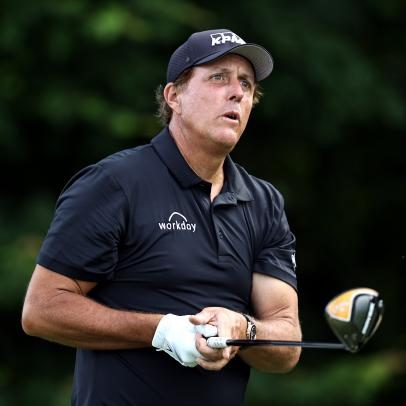 Phil Mickelson's first PGA Tour round as a 50-year-old goes as well as he could have imagined