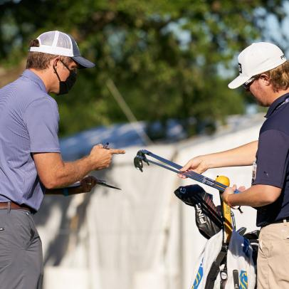 Equipment rep details the frenzied back and forth (and sometimes back and forth again) needed to help tour pros at Colonial