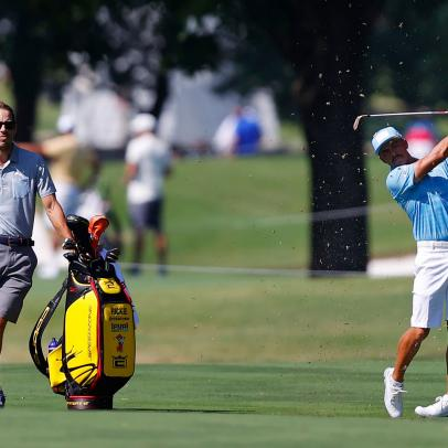 At Colonial, golf returns with barely a whisper