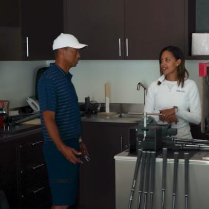 Tiger Woods' equipment obsession on display at his at-home workshop