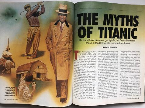 Golf's killer gambler: The legend of Titanic Thompson