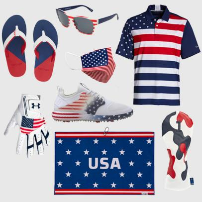 Patriotic Golf Gear: Our favorite USA-themed items to celebrate Fourth of July in style