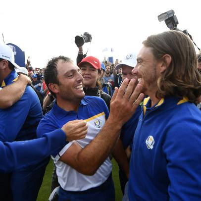 Tommy Fleetwood had the perfect reaction to hearing Ryder Cup buddy Francesco Molinari is moving