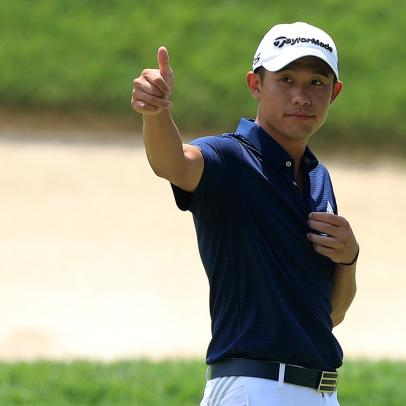 Collin Morikawa on the key equipment change that led to victory at Muirfield Village