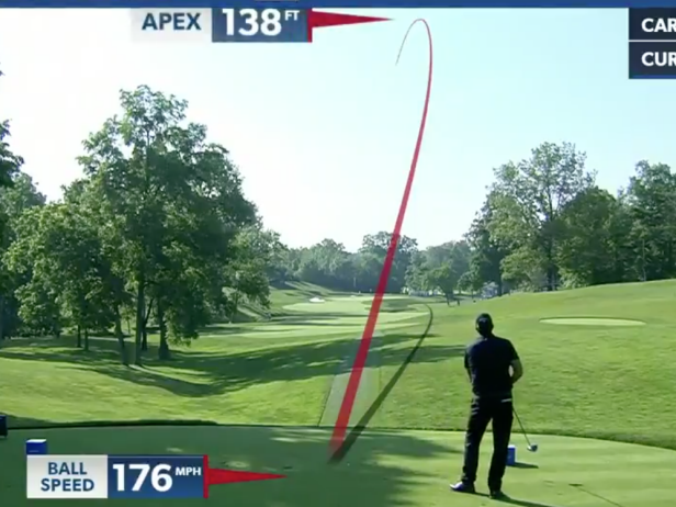 This clip of Phil Mickelson driving a par 4 belongs in a museum