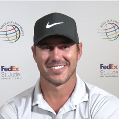 Brooks Koepka just gave the most Brooks Koepka response ever to a reporter questioning his confidence level