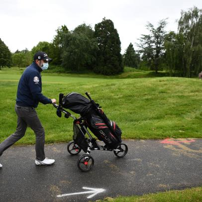 Experts maintain golf not advisable for anyone who's recently tested positive for COVID—even if they own the golf course
